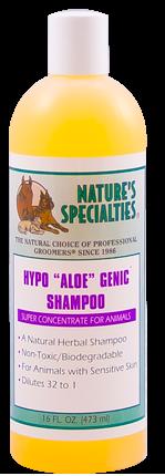 Natures Specialities Hypo Aloe-Genic Shampoo.