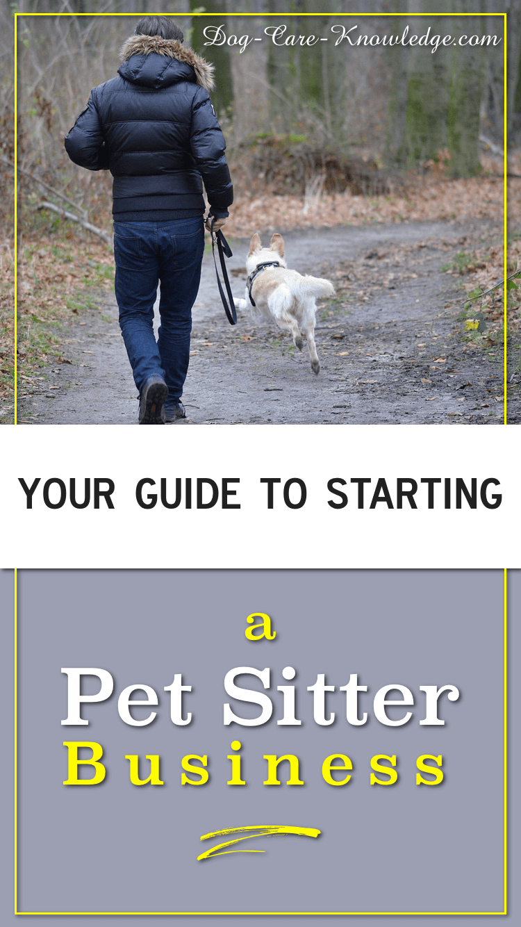 Start a pet sitter business and make money doing something you love.