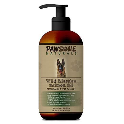 Pawsome Naturals Wild Alaskan Salmon Oil