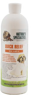 Dog shampoo for yeast infection