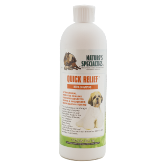Quick Relief Neem Dog shampoo