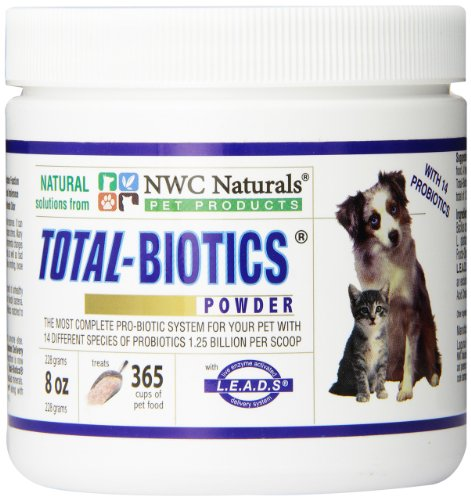 NWC Total-Biotics probiotics for dogs