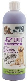 Natures Specialties EZOut Shampoo for Dogs.