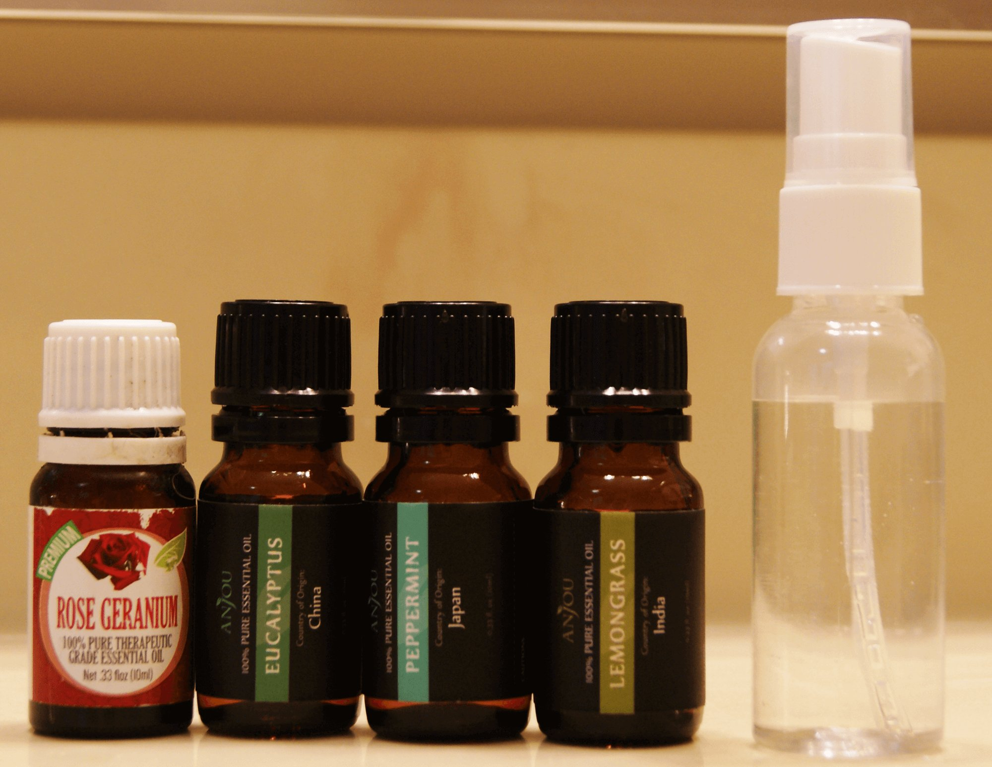 Essential Oil Spray for fleas